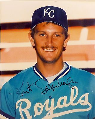 BRET SABERHAGEN Hand signed autographed 8 x 10 Glossy