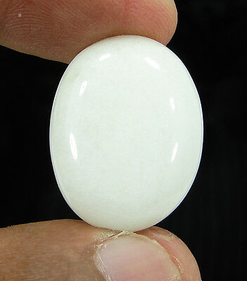 29.00 Ct Beautiful Natural Cabochon White Aventurine Gemstone Stone - 8700