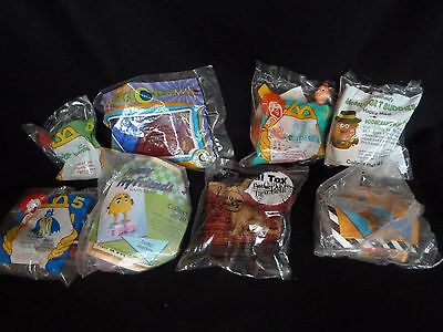 McDonald's - Burger King - Taco Bell Toy Promotions - Lot of 8 - New