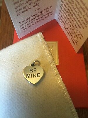 James Avery NEW Retired BE MINE Charm