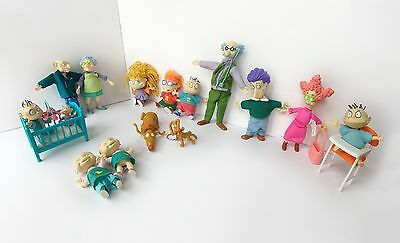 Rugrats Movie Collectible Doll Figures (Lot of 14)