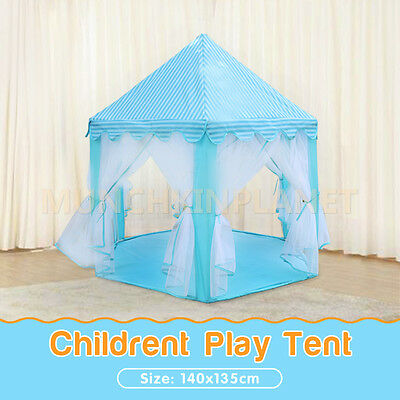 Children Pop Up Play Tent Princess Lace Playhouse Wigwam Party Gift  Design