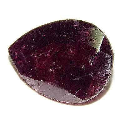 10.5Cts 100% NATURAL TOP FACETED GARNET  16X13 LOOSE CAB GEMSTONE UP380
