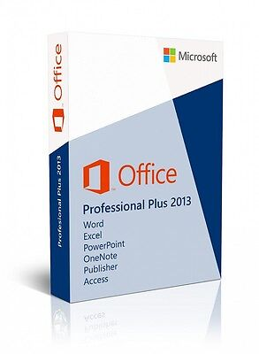 OFFICE 2013 PROFESSIONAL PLUS - 32/64 BIT Licenza - Product Key Full Language