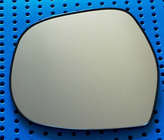 passenger side  mirror glass for TOYOTA  HIACE  2005+ LH With black plate