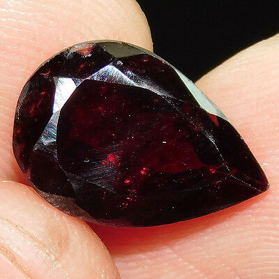 6.3Cts 100% NATURAL CHARMING FACETED GARNET  15X10 LOOSE CAB GEMSTONE UP376