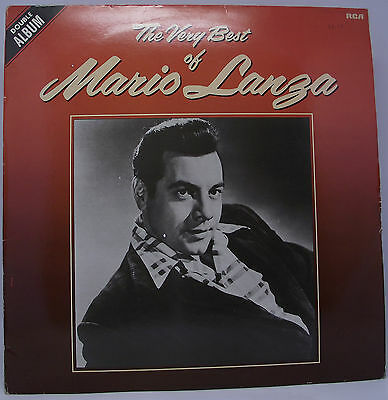 "MARIO LANZA : THE VERY BEST OF Double Album Vinyl LP 12"" 33rpm Excellent"