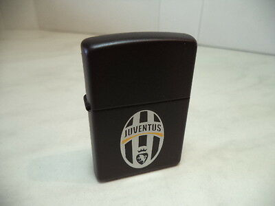 Zippo Accendino Lighter Feuerzeug Juventus Official Products Very Rare New