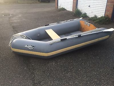 Inflatable Boat With 4HP Mariner Outboard
