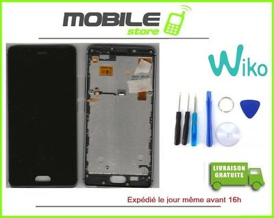 TACTILE + LCD + CHASSIS ORIGINAL pour WIKO UFEEL 4G CHASSIS GRIS + OUTILS