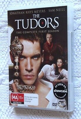 The Tudors: The Complete First Season (Dvd, 3-Disc Set) R-4, Like New, Free Post