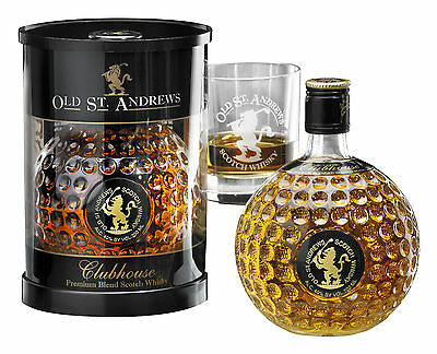 OLD ST. ANDREWS Clubhouse Blended Whiskey Whisky 0,7 Liter | Golf Geschenk + NEU