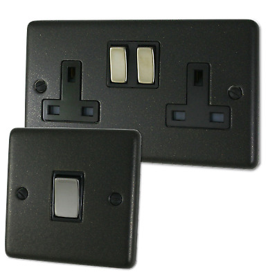 Graphite Sockets and Switches - Full Range