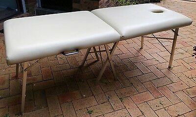 Massage Table Very Solid And Portable With Carry Case
