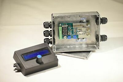 55A Constant current HHO PWM CCPWM 12V 24V Waterproof + LCD + automatic relay