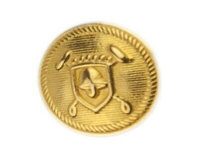 """Org Ralph Lauren Polo University gold color metal Replacement sleeve button .60"""""""