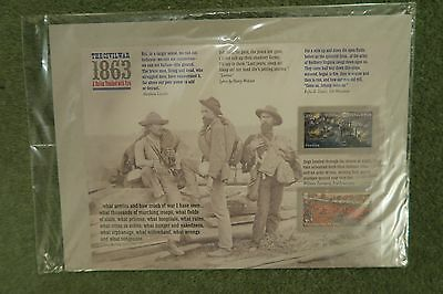 USA  STAMPS 2013 The Civil War 1863 sheet unopened