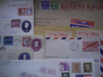 USA:10 Covers 1906 to 1970s. Mixed Condition