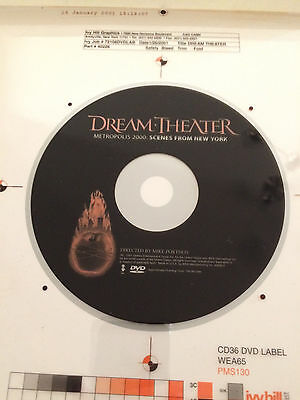 Dream Theater proof for Metropolis 2000