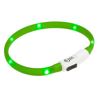 Collare gatto gatti Cat Night Collar Ferplast luminoso Led USB visibilità buio