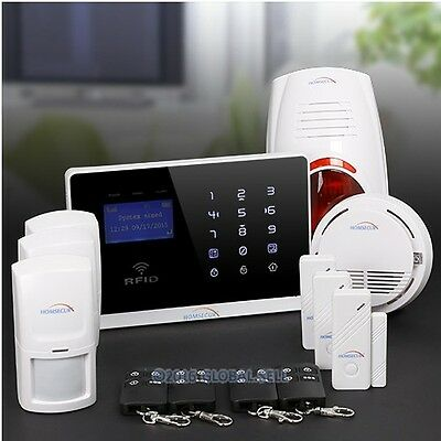 App Controlled Wireless&Wired GSM Home Security Alarm System+ IOS/ Android App