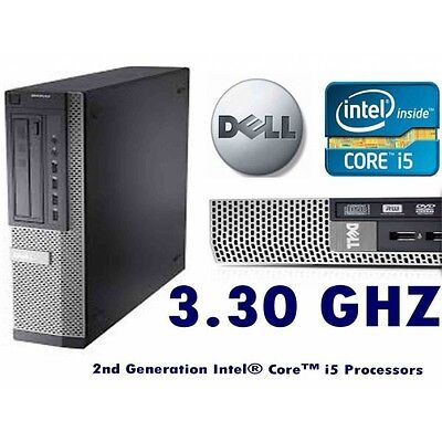 i5 Dell OptiPlex  Intel Core i5- 3.2GHz 8 GB RAM 500 gb Hard SSF Desktop PC