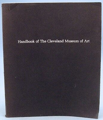 HANDBOOK OF THE CLEVELAND MUSEUM OF ART (Softcover, 1969)