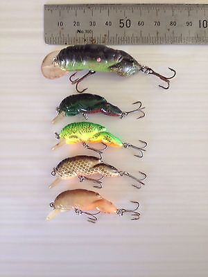 Vintage Small Freshwater Fishing Lures