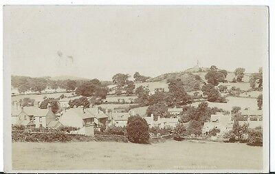 Woodhouse Eaves Loughborough View of Village RP #914A Unused