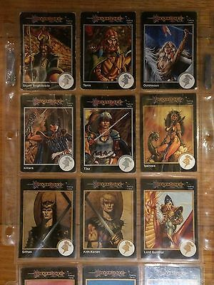 Advanced Dungeons & Dragons 2E TSR Collectible Trading Cards Rare OOP Lot of 338