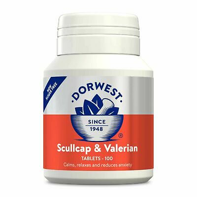 Dorwest Scullcap and Valerian 100 Tablets, Premium Service, Fast Dispatch
