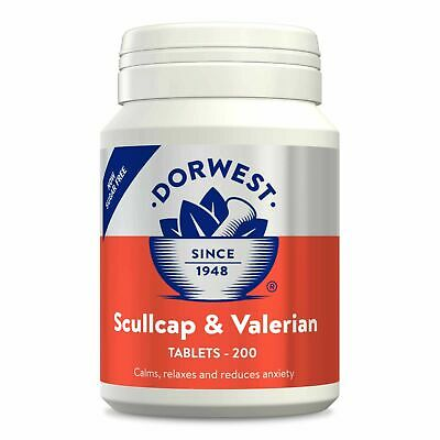 Dorwest Scullcap and Valerian 200 Tablets, Premium Service, Fast Dispatch
