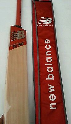 Limited Time Offer NB TC 1260 Grade 1 English Willow Cricket Bat Fully Knocked
