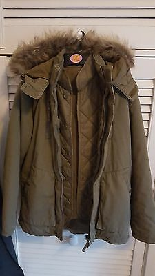 M&S 2-Part Khaki Hooded Parka Set    9-10 yrs