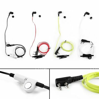 Headset Auricular Para Kenwood BAOFENG TYT LINTON UV-5R TG-UV2 Two Way 4Colors.