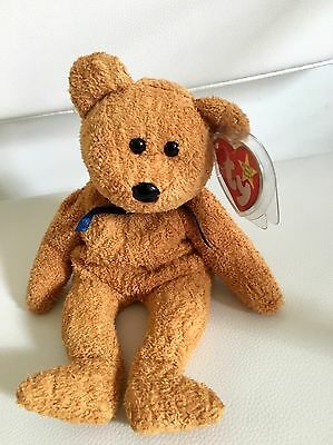 TY Beanie Baby Fuzz RARE Retired with Tag Error