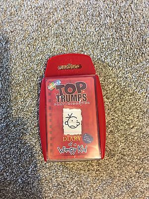 Brand New Top Trumps Diary Of A Wimpy Kid Card Game 2013