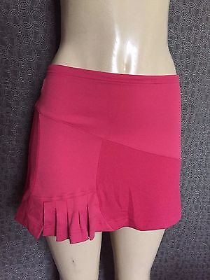 K-SWISS 7.0 Pink Stretch Breathable Tennis Athletic Skirt, Small