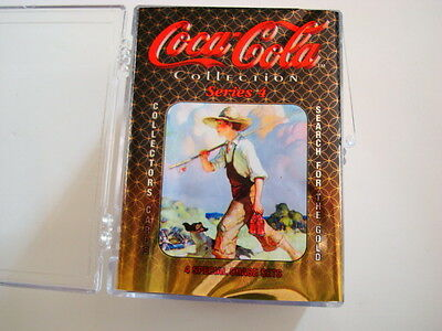 1995 Coca Cola Series 4 100 Card Base Set