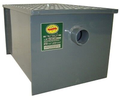 30Lb. Commercial Kitchen Grease Trap