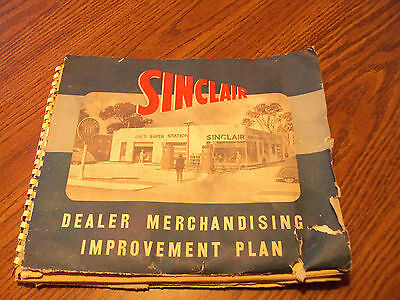 Vintage Sinclair Dealer Merchandising Plan Booklet + More