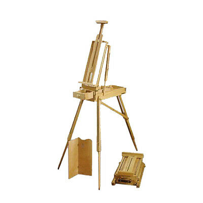 Loxley WILTSHIRE Wooden Pochade Sketch Box Travel & Studio Painting Easel
