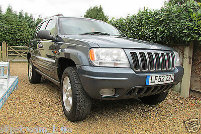Jeep Grand Cherokee CRD 2.7 LTD Automatic Auto 1 Former Owner 80000 miles Diesel