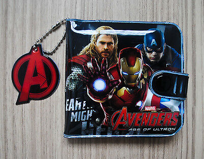 Marvel AVENGERS Boy Kid Girl Wallet Purse Coin Pouch Bag New #01 FREE SHIP