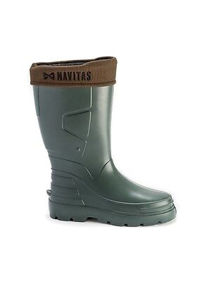 Navitas NEW LITE Welly Boot Insulated Carp Fishing Wellies Size 8 9 10 11 12