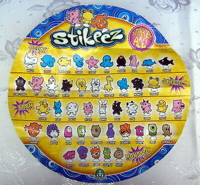 STIKEEZ + stikkodiski DA 1 A 45 scegli personaggio - choose figure LIDL ANIMALI