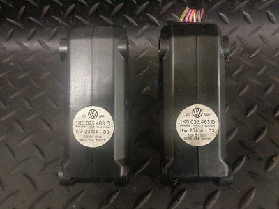 2004 Vw Golf 1.9 Tdi Sport 3Dr Mk5 Pair Of Frequency Crossover Units 1K0035463D