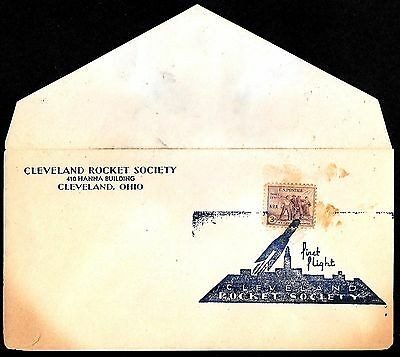 #732 - NRA - Cleveland OH 1932 rocket cover - only 20 produced ----code154