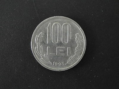 Collectible Coins Romania 100 Lei Coin #1/2
