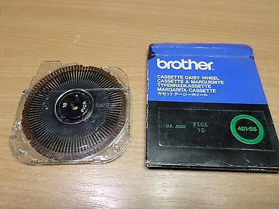 Brother typewriter ax series PICA 10 , Daisy print wheel